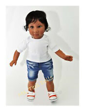 Color Me Kids Ethnic/Biracial 18 inch Girl Doll (Carly) Brown Eyes