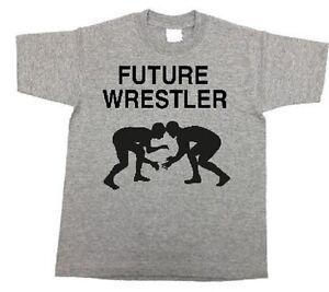 Boys wrestling shirt future wrestler shirt toddler wrestling t-shirt wrestle tee