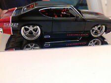 """Jada 1:24 1969 Chevy Chevelle """"SS"""" 502 Custom Red Tailed! New! No Box!"""