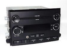 Mercury and Ford Car Radio - AM FM 6 Disc CD mp3 w Aux Input 8E5T-18C815-AF