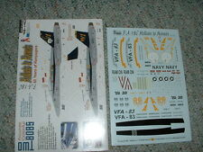 TwoBobs Two Bobs  Decals 1/48 48-140 F/A-18C Hellcats to Hornets 60 years   HH
