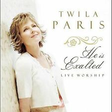 He Is Exalted by Paris, Twila Live Worship Sealed