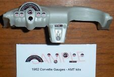 1962 CORVETTE GAUGE FACES for 1/25 scale AMT KITS