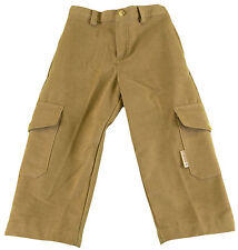 JACADI Boy's Ampoule Camel Cotton Long Pants SZ: 2 Years NWT $48