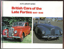 British Cars of the Late Forties 1947-49 A-Z AC to Wolseley Auto Library Series