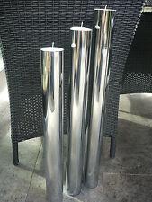 """Philippi Design Base Standkerzenhalter """"L"""" verchromt H 65 cm **  123112 TOP"""