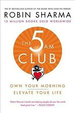 5 AM Club : Own Your Morning, Elevate Your Life, Hardcover by Sharma, Robin, ...