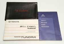 2005 TOYOTA TUNDRA OWNERS MANUAL V6 4.0L V8 4.7L LIMITED SR5 TRD LTD BASE 4X4 2W