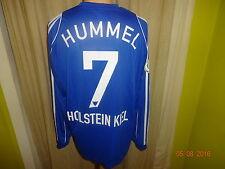 "Holstein Kiel Adidas Langarm Matchworn Trikot 06/07 ""famila"" + Nr.7 Hummel Gr.L"