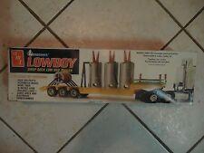 AMT Lowboy Drop Deck Low bed Trailer Kit 1/25 - Model kit LOADCRAFT VINTAGE T508