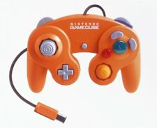 Used Nintendo Official GAMECUBE Wii Controller GC Pad Orange JAPAN OFFICIAL