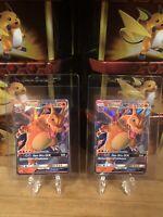 Pokemon Hidden Fates Promo Ultra Rare Holo Charizard GX SM211  2x PSA 10!?
