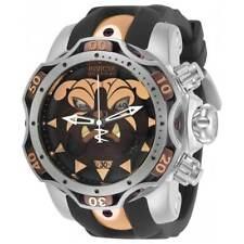 Invicta Men's Watch Reserve Venom Chronograph Black Silicone Strap 30348