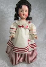 Vintage Effanbee Historical Doll 1816 MONROE DOCTRINE Composition w Box - Rare!