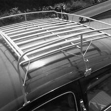 VW Käfer Dachgepäckträger Gepäckträger Dach grau Stahl & Holz Vintage (-313)