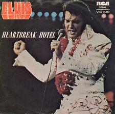 "ELVIS PRESLEY. HEARTBREAK HOTEL. RARE AUSTRALIE EP  PS 7"" 45 1975 RCA  20601"