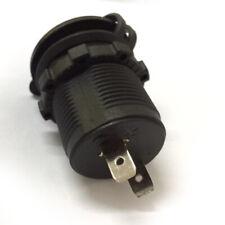 Waterproof 12V Car Cigarette Lighter Socket USB Charger Power Adapter Outlet