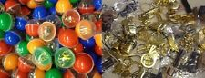 40 Toy Guns Handcuffs Bullets Grenade Party Favors KeyChains in Vending Capsules