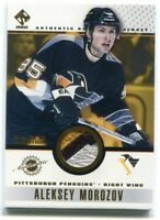 2001-02 Private Stock Game Gear Patches 81 Alexei Morozov Patch