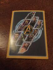 Panini Marvel Avengers: Infinity War 2018 No. X13 Stickers