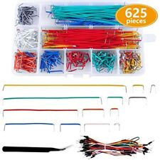 625 Pieces Jumper Wire Kit 560pcs Preformed Breadboard 14 Lengths Assorted To