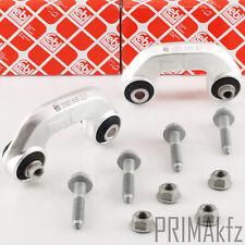 2x Febi 21924 21926 Barra de Acoplamiento Estable Eje Delant. Audi A4 B6 B7 Seat