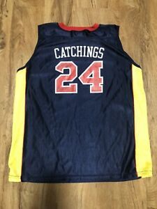 Tamika Catchings WNBA Jersey Autographed Size Women's L (2 Sigs Neither Tamika)