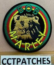 BOB MARLEY ROCK SINGER LION PATCH