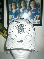 BRAND NEW SEATTLE MARINERS BASEBALL HAT CAP KIDS ONE SIZE MLB HEARTS GIRLS