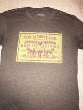 Levi's T Shirt Size Medium Brown