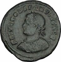 CONSTANTIUS II Constantine the Great son Roman Coin Military Camp Gate  i44465