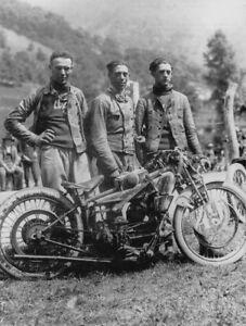 Moto Guzzi 500 C 4V – 1924 Guzzi racing team - motorcycle racing photo