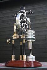 Hot Air Stirling engine aire caliente motor stirlingmotor + wirbelstrom generador LED