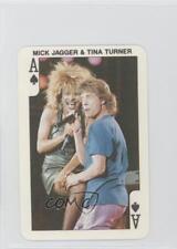 1986 Dandy Rock 'n Bubble #AS Mick Jagger & Tina Turner Non-Sports Card 0a2