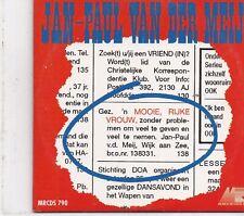 Jean Paul Van Der Meij-Mooie Rijke Vrouw cd single