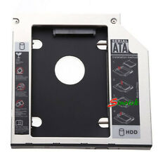 NEW SATA 2nd HDD caddy for 9.5mm Universal CD/DVD-ROM ACER BENQ HP DELL ASUS