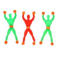 3 Pcs/Set random Sticky Wall Climbing Flip Rolling Men Climber Kids Toy FavBLCA
