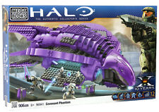 "Mega Bloks Halo ""Covenant Phantom"" set Xbox 360/One/X megabloks blocks 3 4 5 NEW"