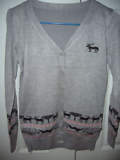 BRAND NEW DEER CARDIGAN SIZE 8