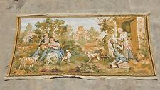 Vintage French Beautiful Scene Tapestry 97x50cm (A1235)