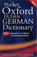 Pocket Oxford-Duden German Dictionary, , Good Book