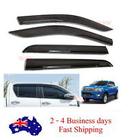 WEATHER SHIELD WEATHERSHIELD SR SR5 FOR 2015-2018 TOYOTA HILUX DUAL CAB M70 M80