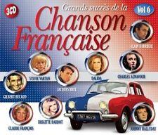 VARIOUS ARTISTS - GRANDS SUCCS DE LA CHANSON FRANCAISE, VOL. 6 NEW CD