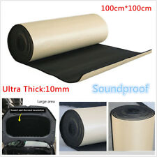 1m*1m*10mm Soundproof Noise Insulation Heat Shield Acoustic Foam Mat For Car SUV