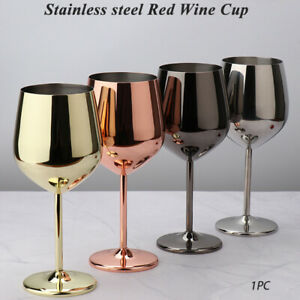 Champagne Cocktail Outdoor Stainless Steel Drinking Cup Kitchen Wine Glasses
