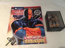 DC super hero estatuilla & revista Colección Deathstroke el problema Terminator #2