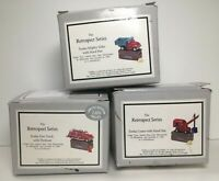 Lot of 3 -PHB Collection Hinged Trinket Box Tonka Crane, Mighty Mike, Fire Truck