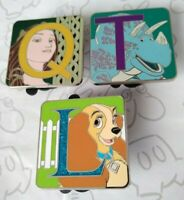 Character Alphabet Letter Mystery Limited Release Set Choose a Disney Pin