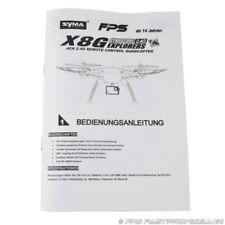 SYMA X8G RC Drohne Quadrocopter Deutsche FPS Anleitung Erklärung Headless Mode