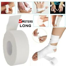 Cotton White Medical Adhesive Tape Sport Binding Physio Muscle Elastic Bandage